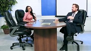 Office Fuck And Anal Creampie