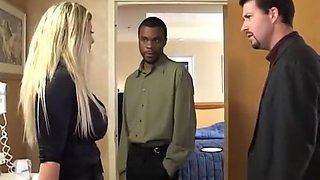 Sara Jay cheating with a black man