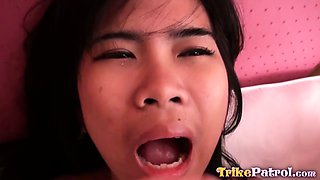 Half-Japanese Filipina gets fucked and face-creamed by