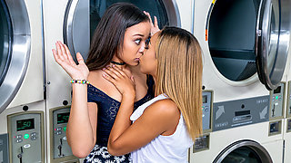 Adrian Maya  Xianna Hill in Laundry Day - DigitalPlayground