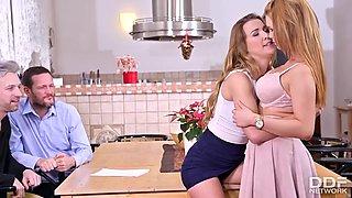 Alexis Crystal & Katarina Rina - Swingers Dream Com