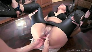 Extreme milf anal fisting insertions and gape