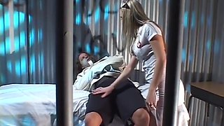 Lanny Barbie In Provocative Nurse Lets Her Patient Have Intercourse Her Pussy