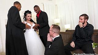 gangbang bride white sex black cocks dgs