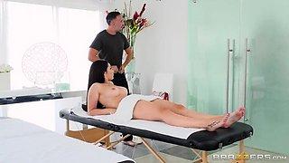 Couple Cums For A Massage