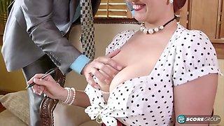 My Hot Busty Secretary