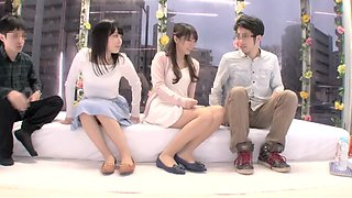 Incredible Japanese slut in Crazy Teens, Swingers JAV clip