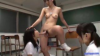 Futanari* teacher