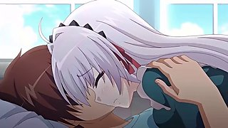 Japanese hentai anime the little tiny school mate looking for fuck after school