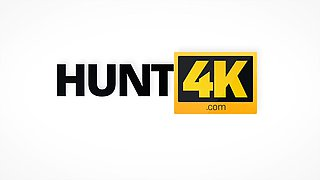 HUNT4K. Cuckold receives much money for girl's sex with...