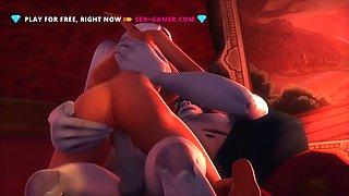 Incredible animation porn 3d fucking penetration