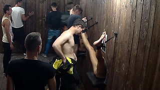 Glory Hole GangBang Party