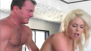 Blonde Bride Is Hot And Horny From Her Wedding