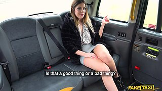 Nice fucking in the back of the cab with broke Marica Chanelle