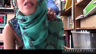 Caught jerking off car Hijab-Wearing Arab Teen Harassed