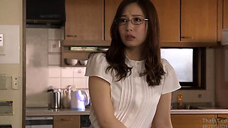 Fuck A Japanese Housewife In The Kitchen