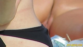 Amateur Nudist Voyeur Beach - Mature Close Up Pussy