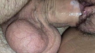 He fucks my hairy pussy in the morning