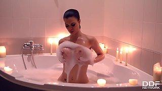Jasmine Jae In Voluptuous Bathtub Solo