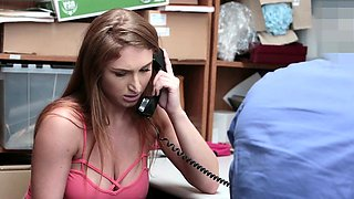 Shoplyfter- Busty Teen Fucks Cop and Mom Watches