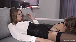 Maria Pie Strapon Domination Of An Innocent Girl