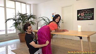 Gorgeous Bollywood Actress fucked rough after Nude audition