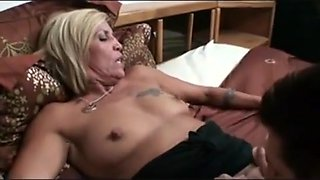 Long nippled mature smoking