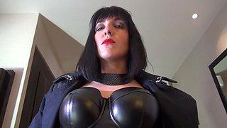 Mya Lorenn in Milf uses her slave with a strap-on - MagmaFilm