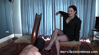 Dominated by goddess sophia strict british mistress
