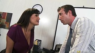 Lisa Ann Shows Her Big Tits While Getting Fucked