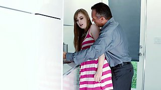 MyBabySittersClub - Hot Babysitter Stuck In Sink and Fucked
