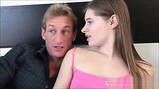 Slut Daughter Alice March Cant Resist Dads Big Throbbing Dick