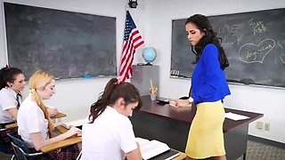 Horny brazilian teen xxx After School Detention