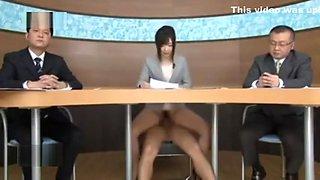 Japanese female news anchors made a fucking killing!