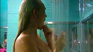 German Big Brother 3 Girl Shower Scene
