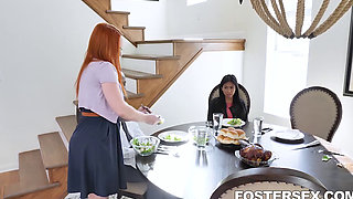 Foster Daughter Ember Snow Learns Manners The Hard Way Summer Hart