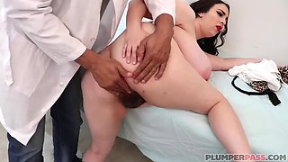 Giant tits milly marx probed by doctor