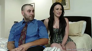 Hubby likes to watch wifey fuck