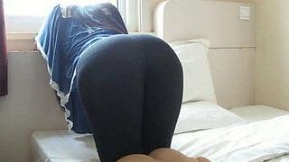 Girl who loves spanking