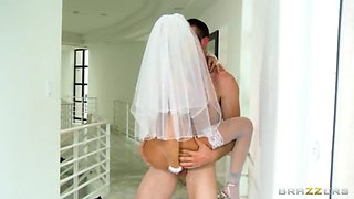 blackmail on her wedding day