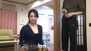 Crazy Japanese whore Azumi Mizushima in Amazing Wife JAV movie
