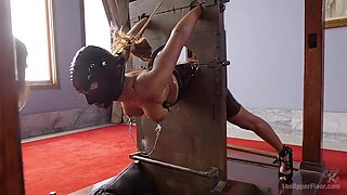 Special Bdsm Room To Bondage, Punish And Brutally Fuck Submissive