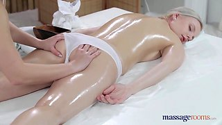 Porn with two women enjoying massage