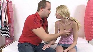 Prodigious blonde Kiara Knight enjoys shaking her shapes