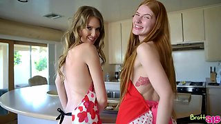 Ashley Lane And Jane Rogers In Step Sisters Valentines Cookie