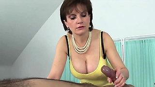 Unfaithful english milf gill ellis shows her massive titties