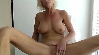 Big Tits Swedish MILF Masturbates - part 04