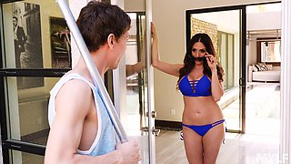summer hot day can be even better if you fuck amazing Ariella Ferrera