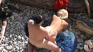 Nudist wife beach fucked by stranger
