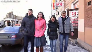 Russian Teens Got Foursome Swinger Party With Nensi B Medina And 18 Years Old